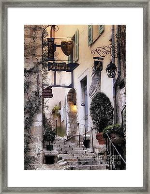 Romantic Way Framed Print