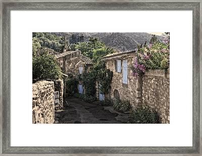 romantical Provence Framed Print by Joachim G Pinkawa
