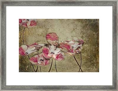 Romantiquite - 01a Framed Print by Variance Collections