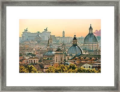 Rome - Italy Framed Print
