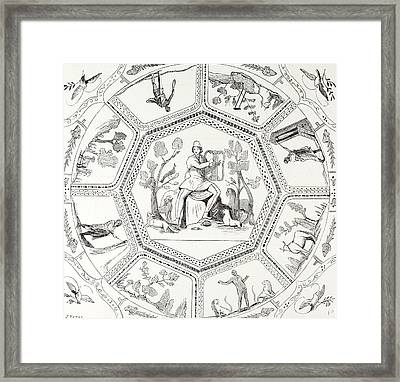 Rome Italy 1875 Paintings  Of The First Century Framed Print