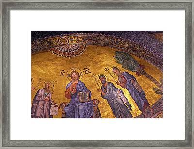 Rome, Italy, Basilica Di San Paolo Framed Print by Miva Stock