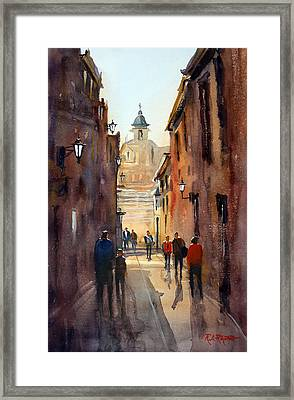 Rome Framed Print by Ryan Radke