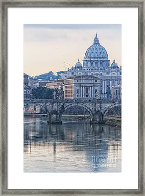 Rome Saint Peters Basilica 02 Framed Print