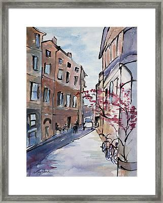 Rome Street Scene IIi Framed Print