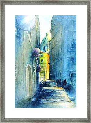Rome Wasn't Built In A Day Framed Print by Virgil Carter