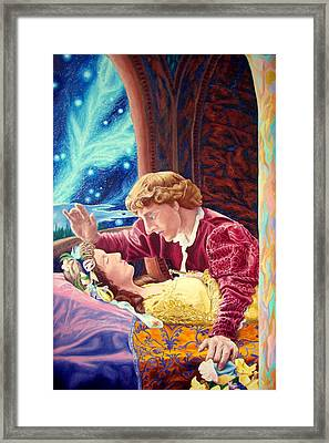 Romeo And Juliet  Framed Print by Matt Konar