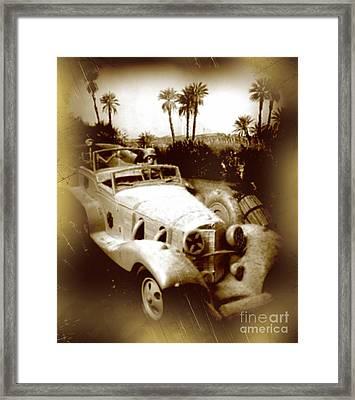 Rommel Desert Rat Framed Print by John Malone