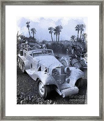 Rommel's Hot Rod Framed Print by John Malone