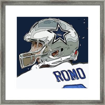 Romo Comic Style Abstract Framed Print by David G Paul
