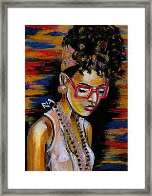 Romy Framed Print