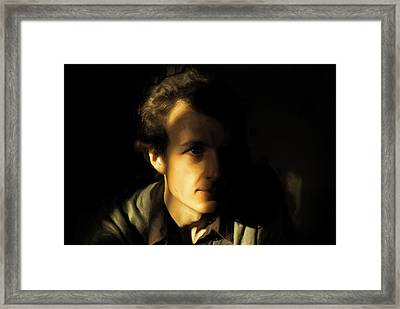 Framed Print featuring the digital art Ron Harpham by Ron Harpham