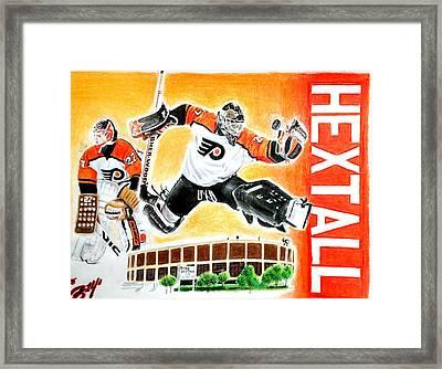 Ron Hextall Framed Print