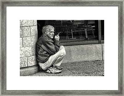 Ron Framed Print