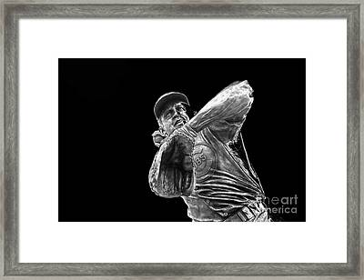 Ron Santo - H O F Framed Print by David Bearden