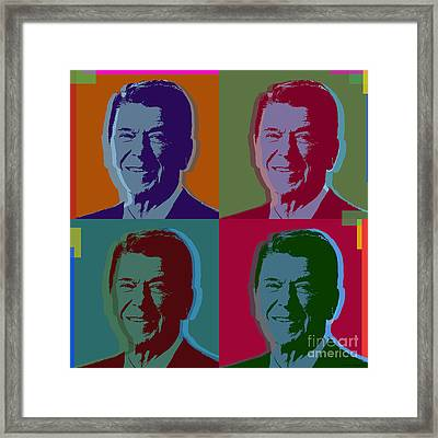Ronald Reagan Framed Print