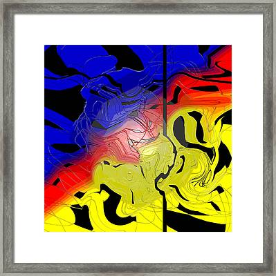 Ronald Went To Donalds To Have A Salad His Brain Chemicals Changed  Framed Print