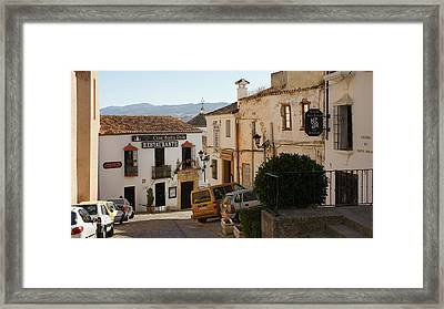 Ronda Framed Print by Christian Zesewitz