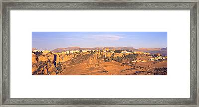 Ronda Gorge, Andalucia, Spain Framed Print by Panoramic Images