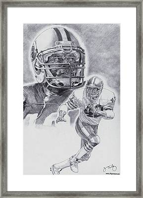Ronnie Lott Framed Print