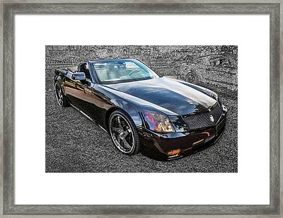 Rons 2004 Cadillac Xlr Framed Print by Rich Franco