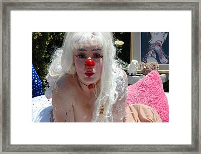 Roobie Breastnut In The Wedding 147 Framed Print