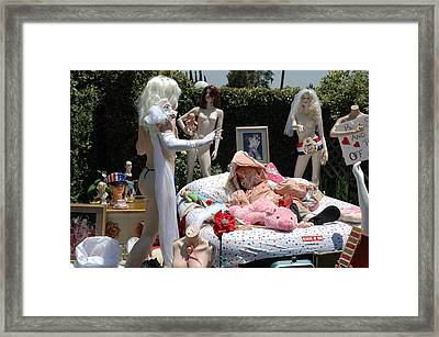 Roobie Breastnut In The Wedding 161 Framed Print