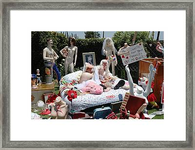 Roobie Breastnut In The Wedding 164 Framed Print