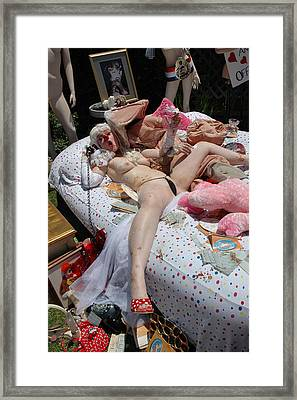 Roobie Breastnut In The Wedding 181 Framed Print
