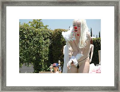 Roobie Breastnut In The Wedding 201 Framed Print