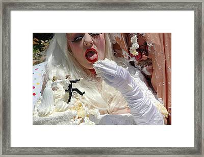 Roobie Breastnut In The Wedding 85 Framed Print
