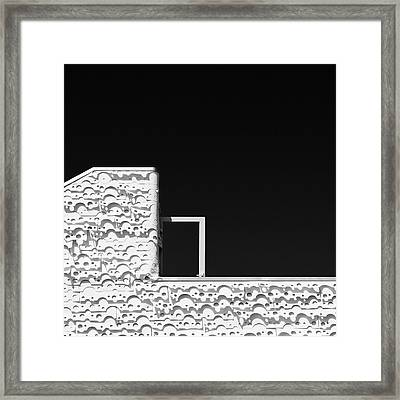 Roof Door Framed Print