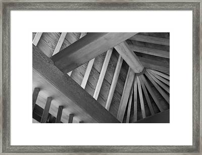 Roof Structure Framed Print