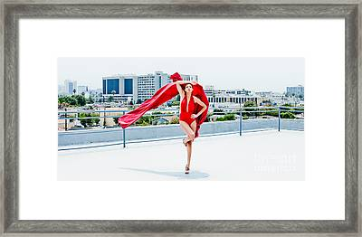 Roof Top II Framed Print