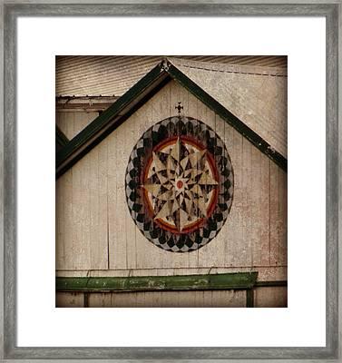 Roofline Hex Framed Print