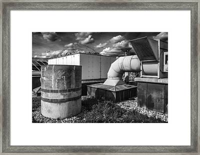 Roofscape Framed Print by Arkady Kunysz