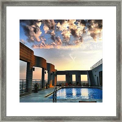 Rooftop  Framed Print by Jennifer Gaida