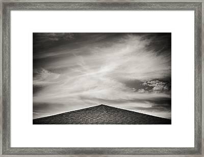 Rooftop Sky Framed Print by Darryl Dalton