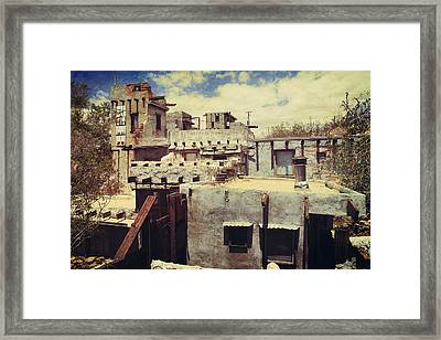 Rooftops Framed Print by Laurie Search