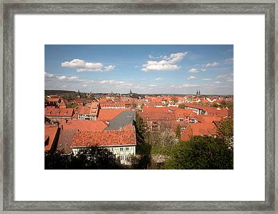 Rooftops Of 1, 300 Relic Half Framed Print by Dave Bartruff