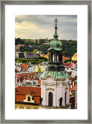 Rooftops Of Prague 1 Framed Print