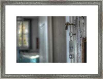 Room 17 Framed Print