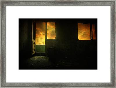 Room 9  Framed Print by Taylan Apukovska