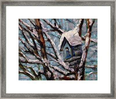 Room At The Inn Framed Print