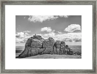 Room On Top Framed Print by Howard Salmon