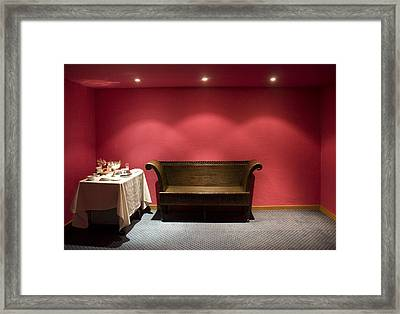 Framed Print featuring the photograph Room Service by Lynn Palmer