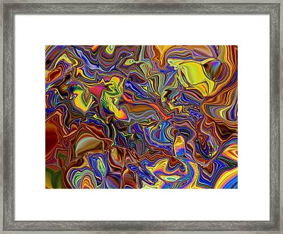 Room Service Send Up A Larger Room Framed Print by Jim Williams
