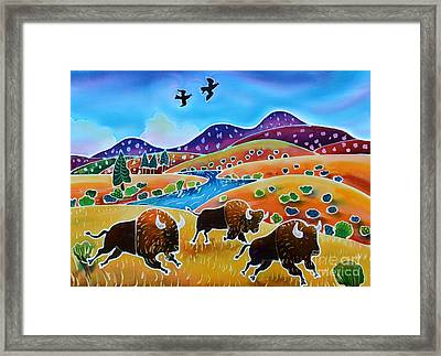 Room To Roam Framed Print by Harriet Peck Taylor