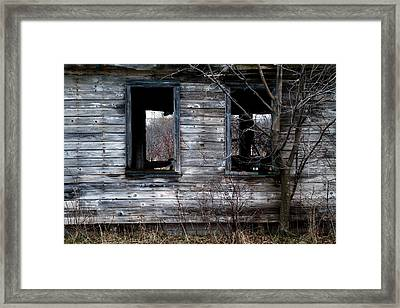 Room With A View Framed Print by Chuck De La Rosa