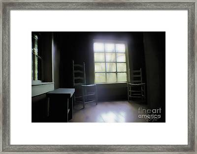 Room With A View Framed Print by Cris Hayes